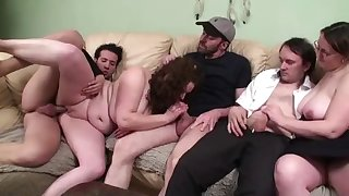 melissa participates to a foursome with a french couple