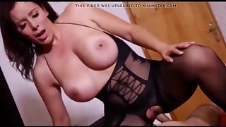 son fucks stepmom hard
