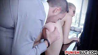 employer employee relationship turns into sexual sadomasochistic bliss for alexa grace