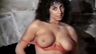 solitary sister - vintage 80's big boobs hairy tease